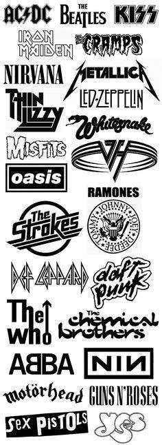 BKS-Waylon JENNING Rock Band Wing Logo Stickers Rock Band Symbol 6 Decorative DIE Cut Decal Black