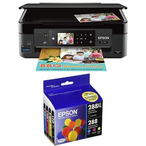 Epson Expression Home Xp 440 Wireless Color Photo Printer With