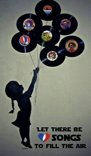 """""""..let there be songs to fill the air..."""" ~ Ripple by Grateful Dead....one of my top 2 favorite Dead songs <3"""