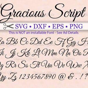 35+ Fancy script monogram font trends