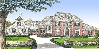 Plan 48267fm Classic French Country Manor Home In 2019 House Fachadas Casas