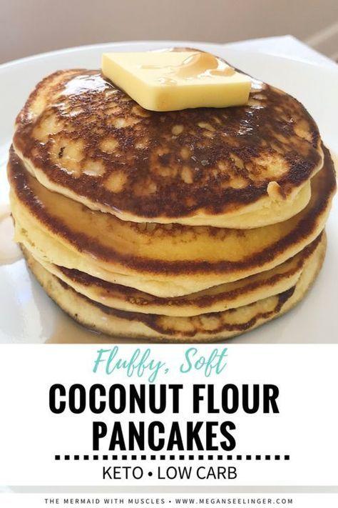 The Best Keto Pancakes Recipe With Coconut Flour Megan Seelinger Coaching Recipe Coconut Recipes Best Keto Pancakes Keto Pancakes Coconut Flour