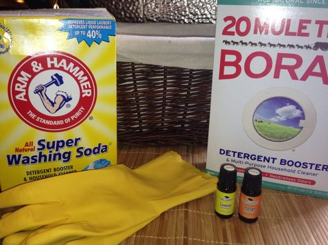 How To Make Your Own Laundry Detergent Recipe Homemade