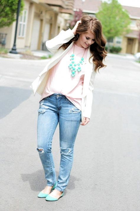 100+ Best Spring Outfits Casual Part 4 #casual #outfits #spring #springcasual #springoutfits #springoutfitscasual # Casual Outfits for work budget
