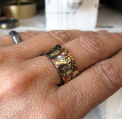 Rustic Mens Wedding Band 10mm Mens Wedding Ring Unique Mens Mens Rustic Wedding Bands Mens Wedding Bands Wedding Bands