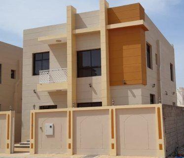 عقارات دبي في عجمان فيلا جديدة بالياسمين للبيع مساحة الارض 252 متر مربع مساحة البناء