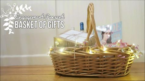 diypresent A DIY basket of gifts for an...