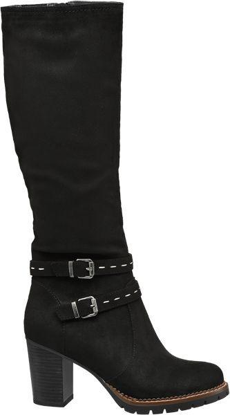 2d08183599 Mit dem schwarzen Stiefel von Graceland sind Ihnen die Blicke anderer  sicher Der 8 5 cm