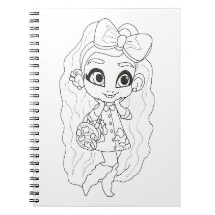 Hairdorables Design By Sallee Coloring Notebook Zazzle Com In 2021 Cute Coloring Pages Coloring Pages Free Printable Coloring Pages