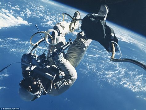 An image from Ed White's personal photograph album of the Gemini 4 mission, June 1965, estimated at a staggering £10,000