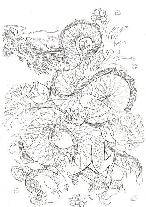 Japanese Dragon On Tumblr Japanese Dragon Tattoos Japanese Dragon Tattoo Dragon Tattoo