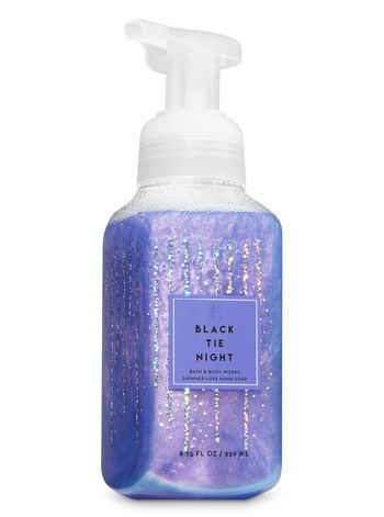 Black Tie Night Shimmer Luxe Hand Soap Bath And Body Works