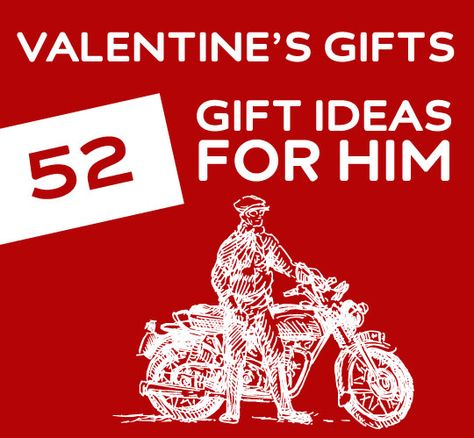 An awesome list with unique Valentine's Day gift ideas for him.