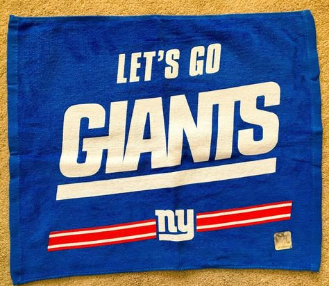 NY Giants Authentic Game Day Rally Towels Collection - 4 Towels  (Collectible)  NY  NewYork  NewyorkCity  Giants  NYGiants  BigBlue  NFL   Football  sports ... 9eb34ac05d7