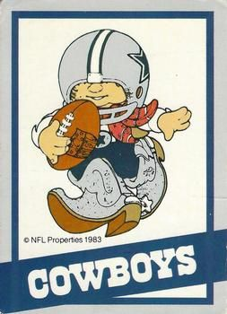 1983 Nfl Properties Huddles Nno Dallas Cowboys The Trading Card