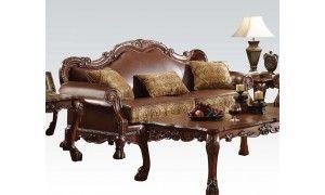 Miraculous Acme Dresden Sofa With 3 Pillows Ac 15160 In 2019 Living Machost Co Dining Chair Design Ideas Machostcouk