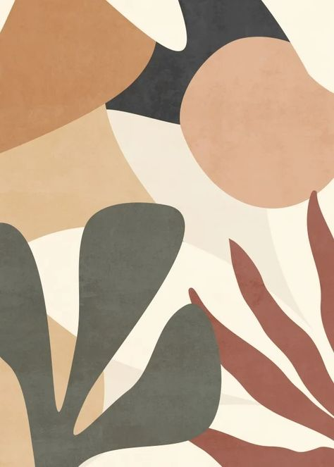 Quadro Decorativo - ABSTRACT TROPICAL SHAPES
