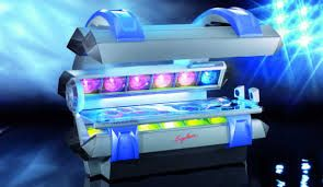Ergoline Open Sun 1050 It Is A 12 Min Bed That Has Air Conditioned Controls Surround Sound Systems And High Output Bro Tanning Bed Tanning Airbrush Tanning