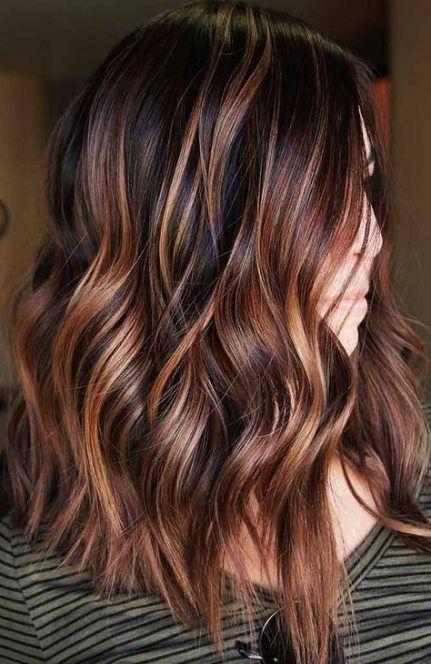 Best Hair Ombre Brown Dark Red Highlights 22 Ideas Hair