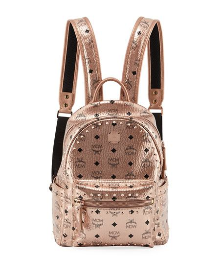 MCM Stark Outline Studs Convertible Backpack in 2019