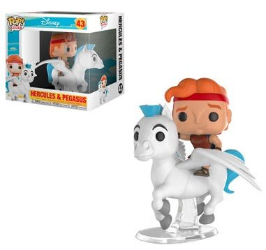Disney Funko POP Multicolor Hercules Pain and Panic 2 Pack Collectible Figure