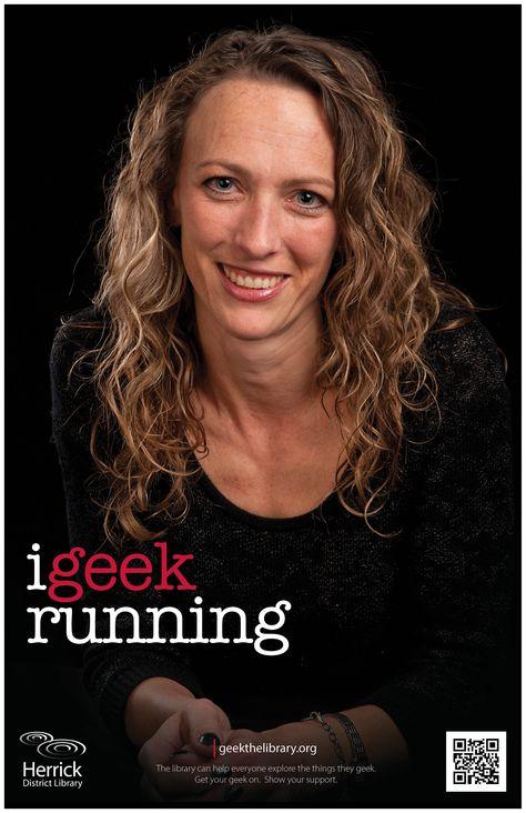 """i geek running"""