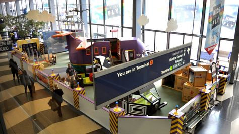 10 U.S. Airports that Make Traveling with Children a Breeze