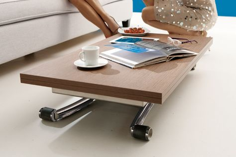 Mini Multifunctional Coffee Dining Table For Small Es