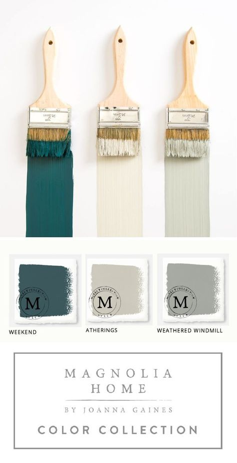 Home Decor Inspiration : This collection of Magnolia Home Paint from designer Joanna Gaines  offers a hug