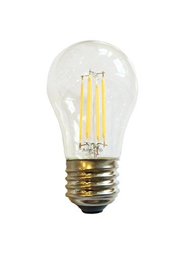 Anyray Led Filament A15 3 5w 40 Watts Equivalent Applia Https Www Amazon Com Dp B01ibbomb2 Ref Cm Sw R Light Bulb Energy Efficient Light Bulbs Led Bulb