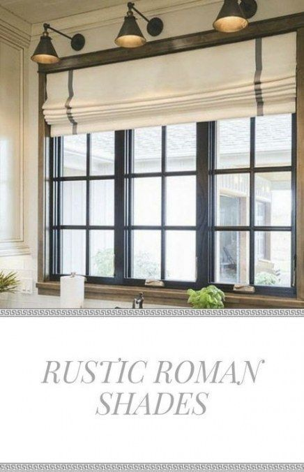 Farmhouse Livingroom Curtains Window Treatments Roman Shades 44 Ideas For 2019 In 2020 Window Treatments Living Room Modern Window Treatments Rustic Window Treatments
