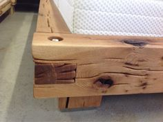 Balkenbett sumpfeiche  15 best beds images on Pinterest | Woodworking, Bed frames and ...