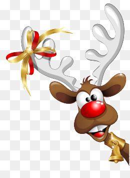 Christmas Reindeer Christmas Reindeer Cartoon Png