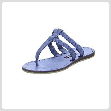Boxx 71.271 Damen Sandale Flip Flop Zehentrenner Echtleder