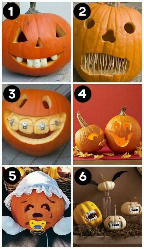 A huge collection of the BEST creative pumpkin decorating ideas for Halloween! Including 60 creative pumpkin carving ideas AND 90 no-carve pumpkin ideas.