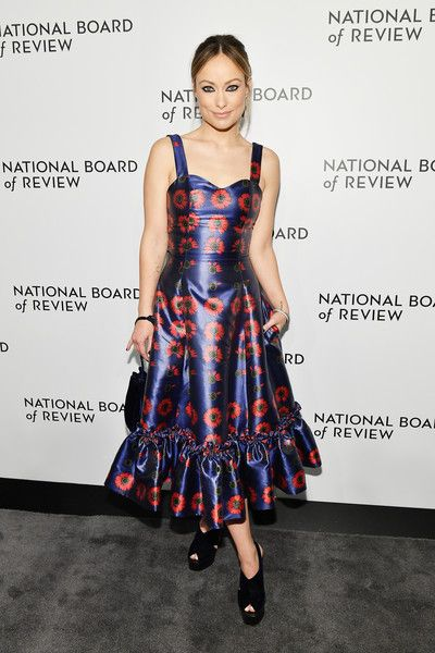 Olivia Wilde attends The National Board of Review Annual Awards Gala at Cipriani 42nd Street.
