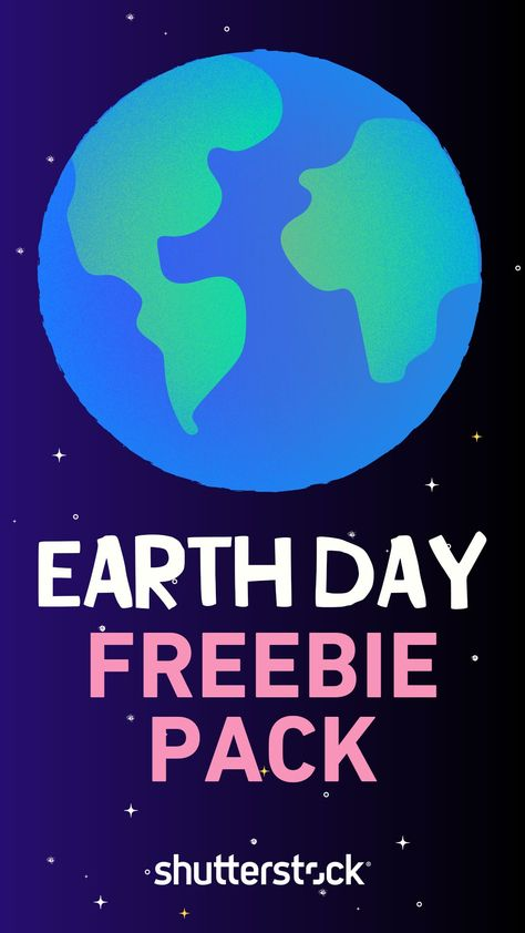 FREE animated Earth Day GIF bundle from Shutterstock