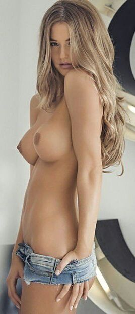 Beautiful sexy girl topless and