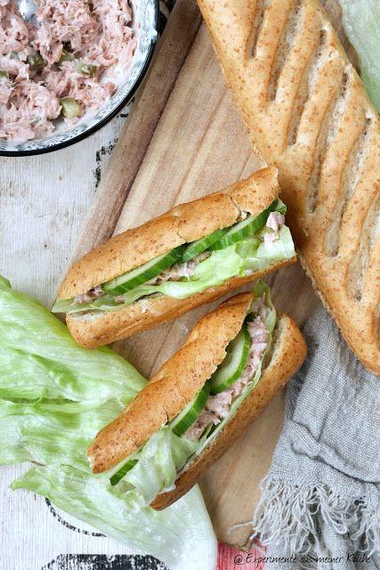 New York Club Sandwich Experimente Aus Meiner Kuche In 2020 Club Sandwich Thunfisch Baguette Club Sandwich Rezepte