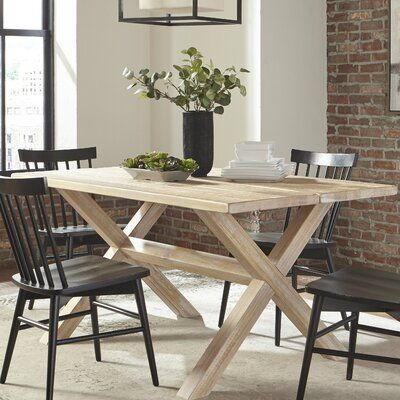Grain Wood Furniture Fincastle Solid Wood Dining Table Color