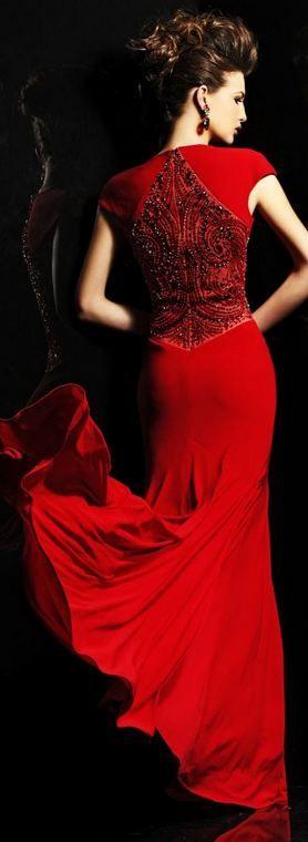 Sherri Hill Red gown