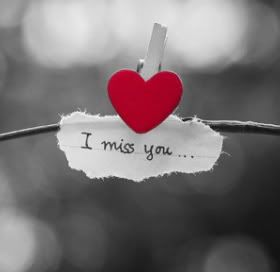 I miss you quotes for her from the heart