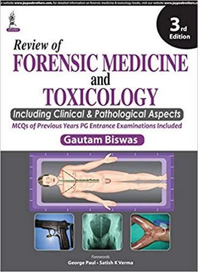 Review Of Forensic Medicine And Toxicology Medicine Book Forensics Forensic Toxicology