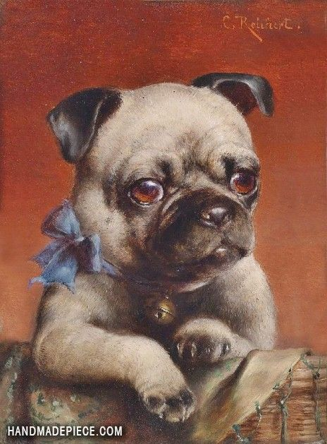Young Pug Cute Pugs Pug Art Cute Pug Puppies