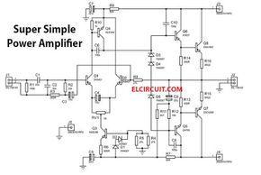 200 watt power amplifier stk4050 8211 stk4046 understandingamplifier stk4050 8211 stk4046 · 200w super simple power amplifier in 2019 electronics hifi