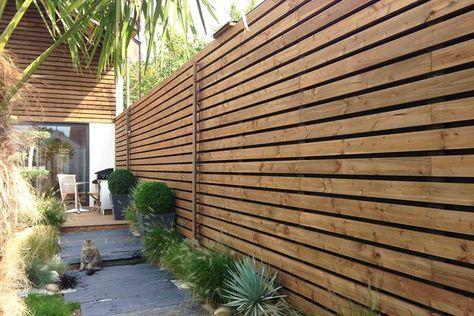 Bois Douglas Pour Bardage Bois Claire Voie Amenagement Jardin Cloture Cloture Jardin Bois Bardage Bois