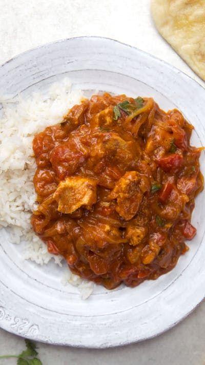Ayam Tikka Masala Resep Resep Tikka Masala Resep Makanan India Rotis