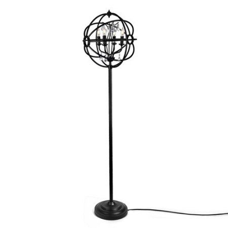 Glass Bedside Lamp for Living Room LNC Orb Table Lamp Bedroom