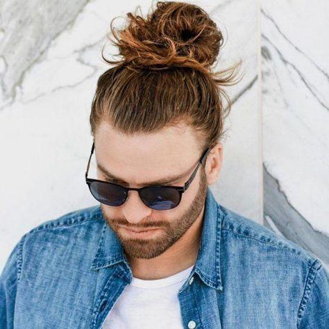 Frisuren Lange Haare Mannerfrisuren 2018 Mann Mit Dutt Frisur