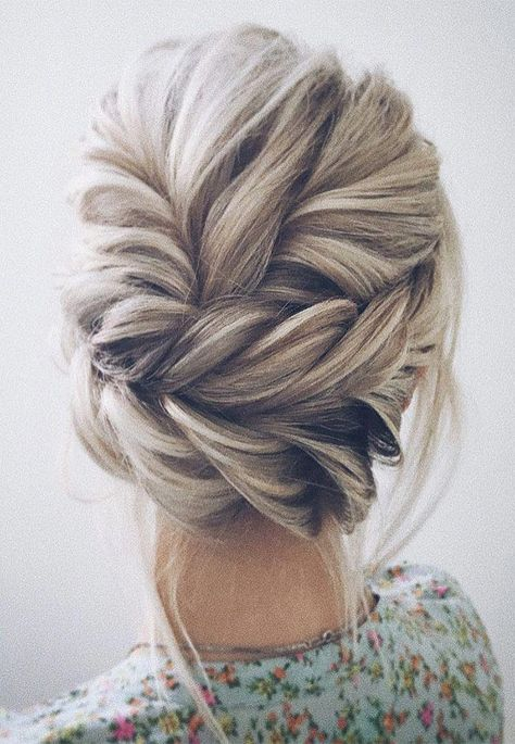 Beautiful updo wedding hairstyle ideas for Every Bride #updosweddinghair